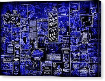 The Blues In Memphis Canvas Print by Carol Groenen