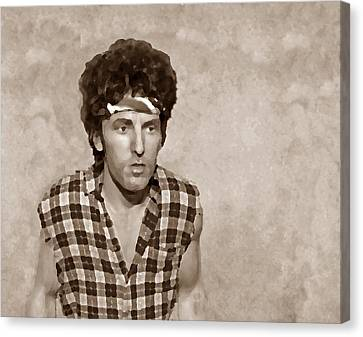 The Boss S Canvas Print by David Dehner