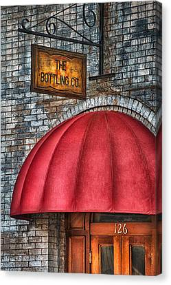 The Bottling Co. Canvas Print by Brenda Bryant