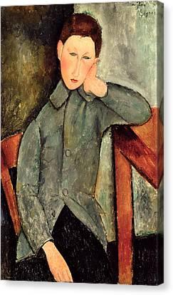 The Boy Canvas Print by Amedeo Modigliani