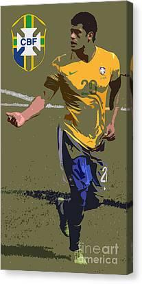 The Brazilian Hulk Iv Canvas Print by Lee Dos Santos