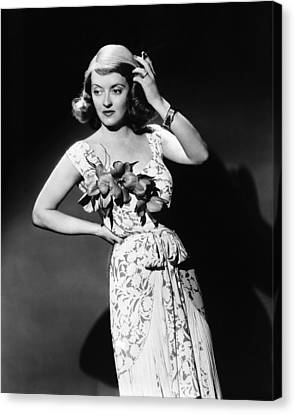 The Bride Came C.o.d., Bette Davis, 1941 Canvas Print by Everett