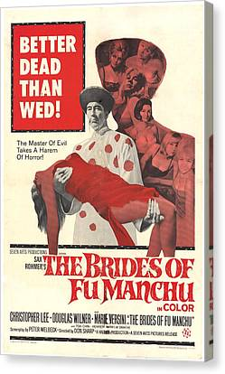 The Brides Of Fu Manchu, Christopher Canvas Print by Everett