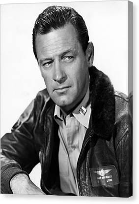 The Bridges At Toko-ri, William Holden Canvas Print by Everett