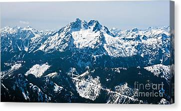 The Brothers Canvas Print by Mike Reid