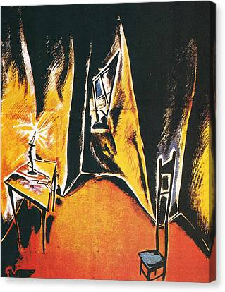 The Cabinet Of Dr Caligari Canvas Print by Georgia Fowler