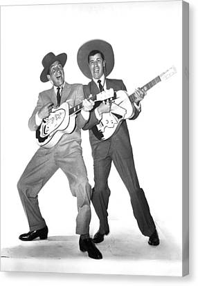 The Caddy, Dean Martin, Jerry Lewis Canvas Print by Everett