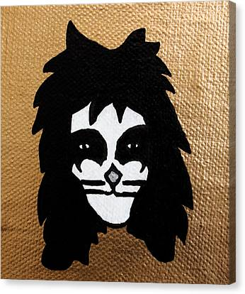 The Catman Canvas Print by Jera Sky