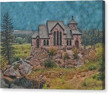 The Chapel Canvas Print by Ernie Echols