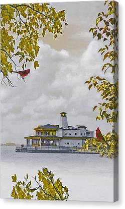 The Chart House  Canvas Print by Tom York Images