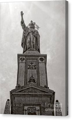 The Christking Monument Canvas Print by Angela Doelling AD DESIGN Photo and PhotoArt