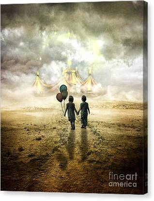 The Circus  Canvas Print by Eugene James