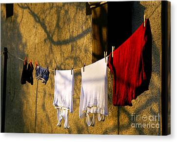 The Clothes Canvas Print by Odon Czintos
