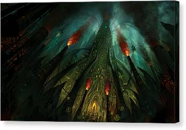 The Conjuring Canvas Print by Philip Straub