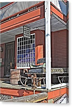 The Country Store Canvas Print by Linda Pulvermacher