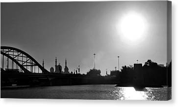 The Cream Of Abudhabi Canvas Print by Farah Faizal