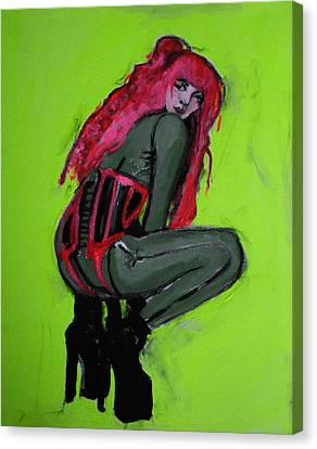 The Croucher Canvas Print by Adam Kissel