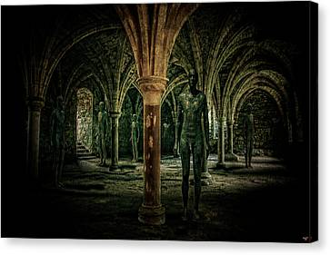 The Crypt Canvas Print by Chris Lord