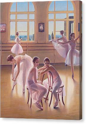 The Dance Class Canvas Print by Patrick Anthony Pierson