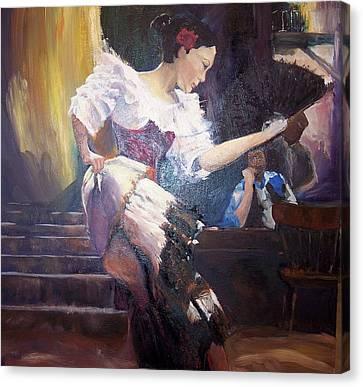The Dancer Canvas Print by Andreia Medlin