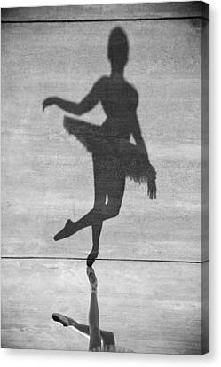 The Dancer Canvas Print by Steven Gray