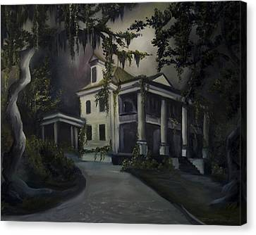 The Dark Plantation Canvas Print by James Christopher Hill