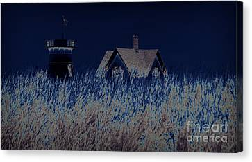 The Darkness Before The Dawn Canvas Print by Luke Moore
