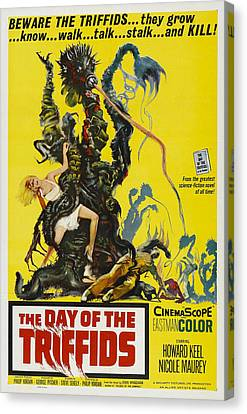 The Day Of The Triffids, 1963 Canvas Print by Everett