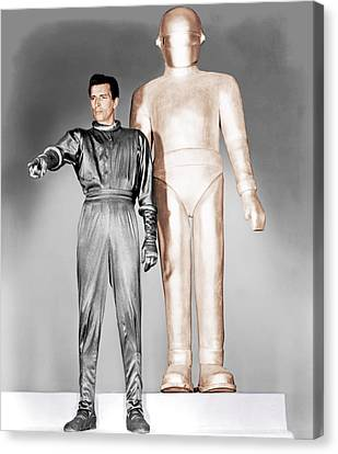 The Day The Earth Stood Still, Michael Canvas Print by Everett