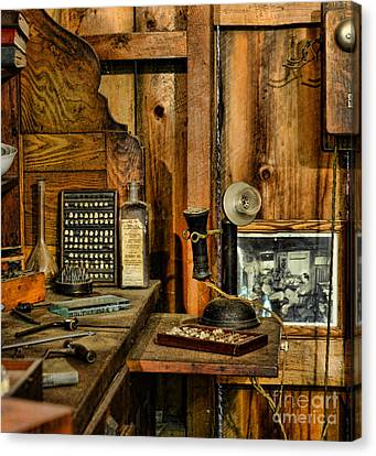 The Dentist Office Canvas Print by Paul Ward
