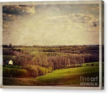 The Driftless Zone Canvas Print by Mary Machare