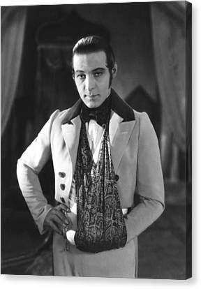 The Eagle, Rudolph Valentino, On-set Canvas Print by Everett