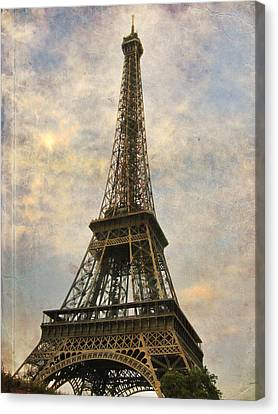 The Eiffel Tower Canvas Print by Laurie Search