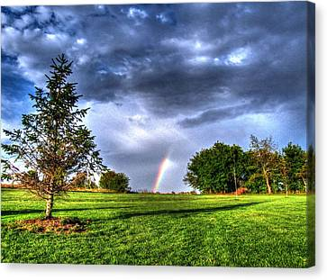 The End Of A Rainbow Canvas Print by Jackie Novak