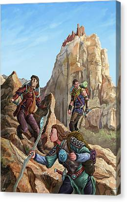 The Explorers Color Canvas Print by Storn Cook