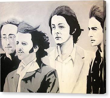 The Fab Four Canvas Print by Rock Rivard