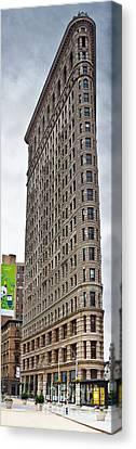 The Flat Iron Building Canvas Print by John Farnan