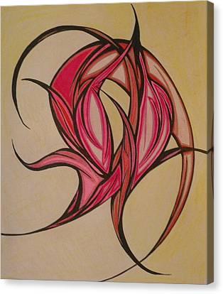 The Flip Canvas Print by Tara Francoise