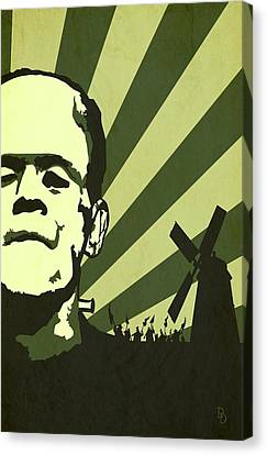 The Frankenstein's Monsters Canvas Print by Dave Drake