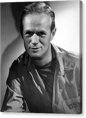 The Frogmen, Richard Widmark, 1951 Canvas Print by Everett