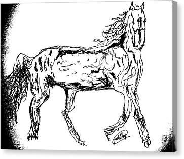 The Gallop Canvas Print by Rocky Malhotra
