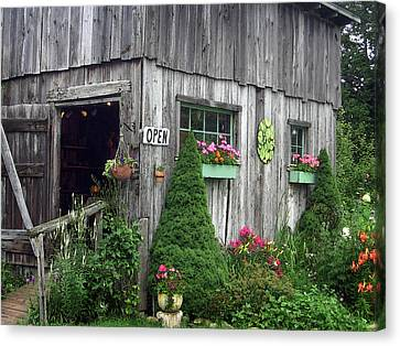 The Garden Shed Canvas Print by J R Baldini M Photog Cr