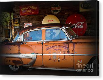The Getaway Driver Canvas Print by Benanne Stiens