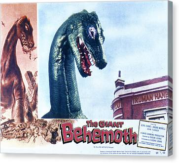 The Giant Behemoth, 1959 Canvas Print by Everett