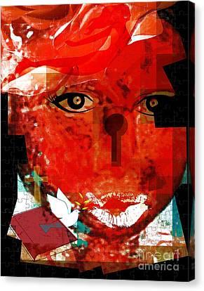 The Gift Of Spirit Canvas Print by Fania Simon