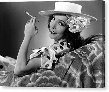 The Girl From Mexico, Lupe Velez, 1939 Canvas Print by Everett
