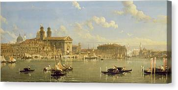The Giudecca - Venice Canvas Print by David Roberts