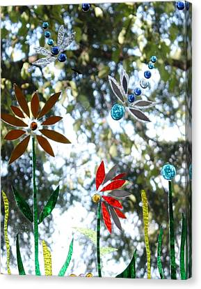 The Glass Garden Canvas Print by Pat Purdy