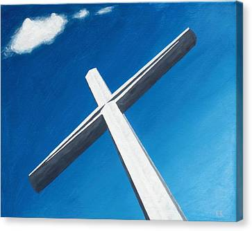The Great Cross - Resurrection Canvas Print by Kelvin Kelley