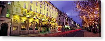 The Gresham Hotel Dublin, Oconnell Canvas Print by The Irish Image Collection